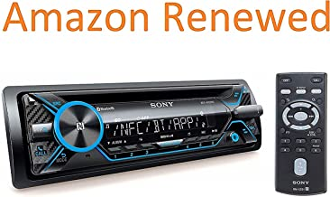 Sony MEX-N4200BT Single-Din in-Dash Built-in Bluetooth CD / MP3, AM/FM Front USB,..