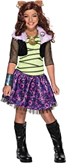 Rubie's Child's Monster High Clawdeen Wolf Costume, Small