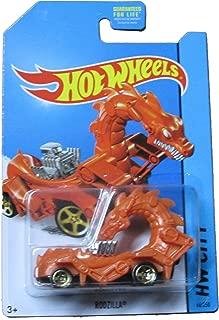 Hot Wheels - HW City 66/250 - Rodzilla (Orange) by Mattel