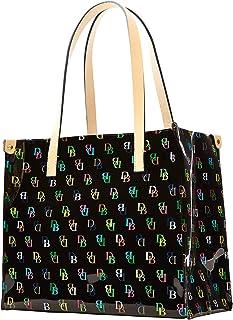 Medium IT Shopper Tote Handbag Purse Black