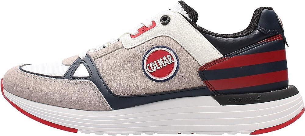 Colmar supreme x1,scarpe sportive,sneakers,per uomo,in pelle scamosciata 219 AI 2019