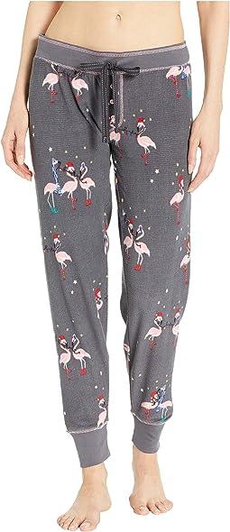 Let's Flamingo Joggers