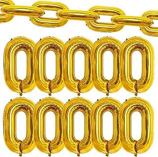Best gold chain balloon garland Reviews