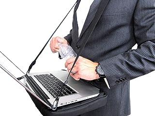 HABz Laptop Harness & Sleeve Bag | Hands Free Portable Adjustable Wearable Desk for Laptop, Tablet, Notepad, MacBook, etc....