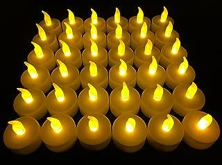 Flameless LED Tea Light Candles, Vivii Battery-Powered...