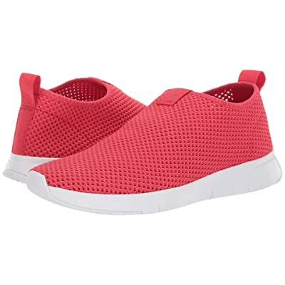 FitFlop Air Mesh Slip-On (Passion Red/White) Women