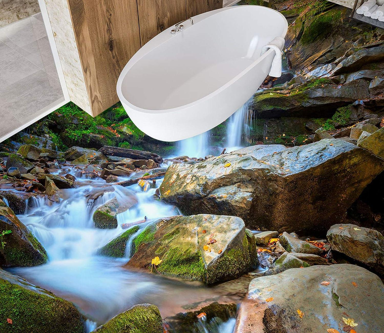 3D Stone Outstanding Flowing Water 3857 New sales Floor Wallpaper Print Murals De Wall
