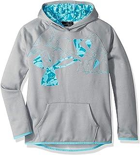 Under Armour Girls Armour Fleece Print Fill Logo Hoodie