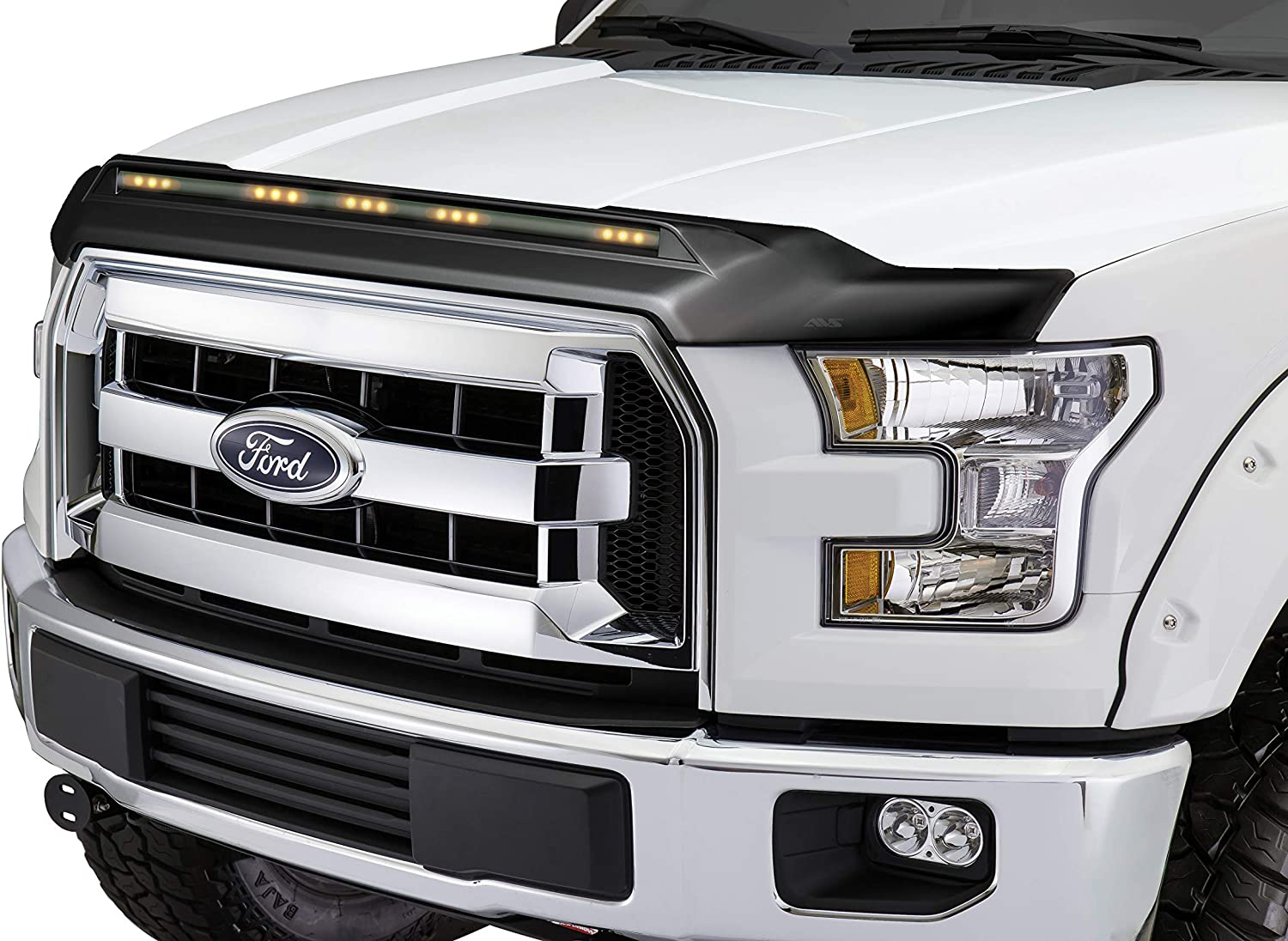 Details about  /AVS Bugflector Dark Smoke Hood Protector Shield For 1997-2003 Ford F-150-23454