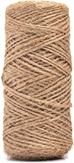 Limited Time Offer: HowenDay 328 Feet Natural Jute Twine String for Crafts, Weddings, Christmas Gifts, and Gardening Appli...