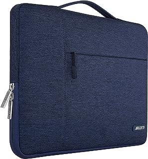 MOSISO ラップトップ スリーブケース ポリエステル 耐衝撃 PCインナーバッグ 撥水加工 手提げバッグ 13-13.3インチ ノートパソコン/MacBook Air 2012-2017 / MacBook Pro Retina 2012-2015 / 13.5 Surface Book / 13.5 Surface Laptop対応(ネービーブルー)