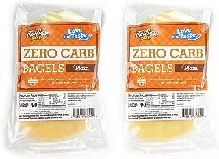 ThinSlim Foods Love-The-Taste Low Carb Bagels, 2pack (Plain)