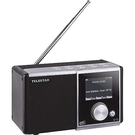 Telestar M 10 Digitalradio Mono Dab Dab Ukw Farbdisplay Direktwahltasten Wecker Favoritenspeicher Silber Schwarz Heimkino Tv Video