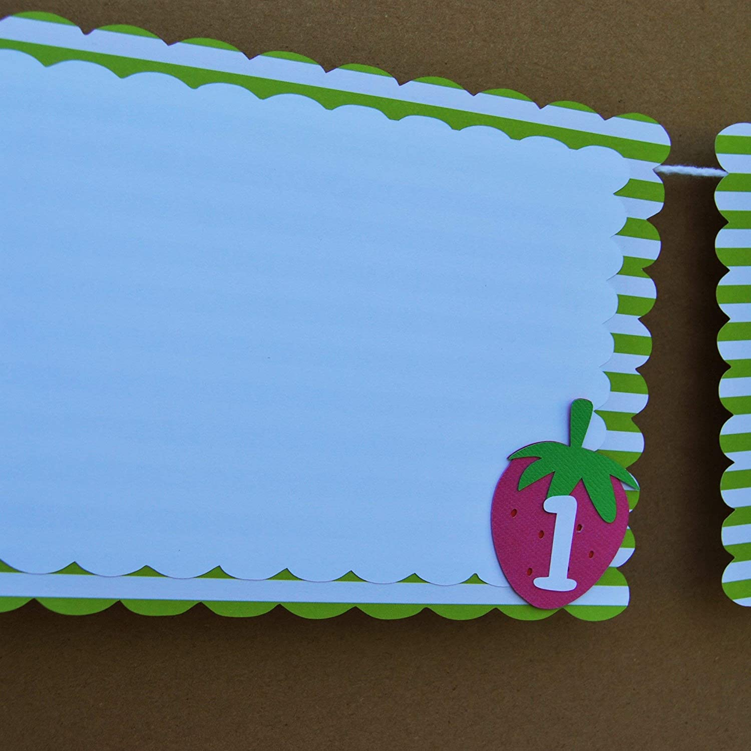 Strawberry Month By Banner Birthday Photo Some reservation Direct stock discount