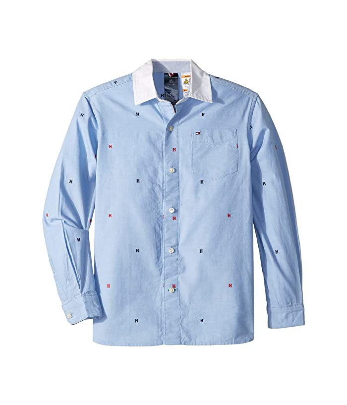 2cb801317d Tommy Hilfiger Adaptive Magnetic Button Shirt (Little Kids Big Kids ...