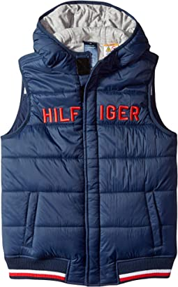 Vest with Hood and Magnetic Buttons (Little Kids/Big Kids)