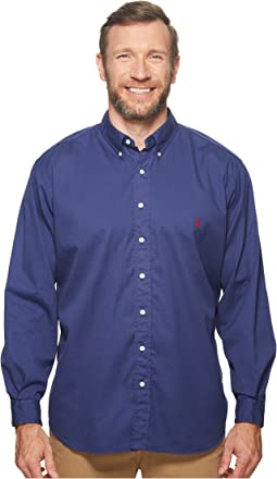 Big & Tall GD Chino Long Sleeve Sport Shirt