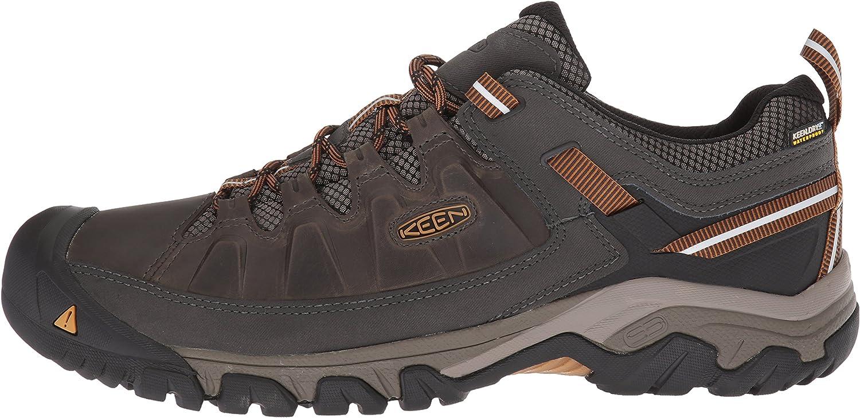 KEEN Mens Targhee 3 Low Height Waterproof Hiking Shoe