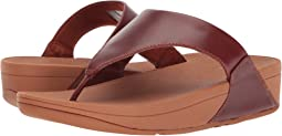 1b5ce6bb8 FitFlop. Lulu Leather Toe Post Sandal