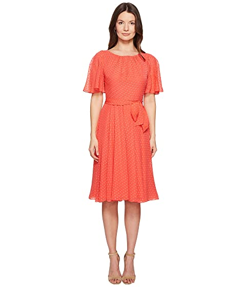 1f31b3ee1c9 Kate Spade New York Spice Things Up Clipped Chiffon Dress at 6pm