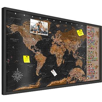 79 Teile Janod J05477 Holz-Magnetkarte