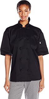 Uncommon Threads Antigua Chef Coat Ss W//mesh