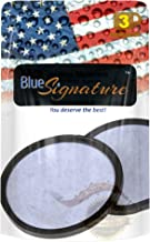 Blue Signature Coffee Filters for replacement of Mr. Coffee Filter Discs - Premium activated carbon filters - Disks for Water Filtration for all MR COFFEE models Coffee Makers (3)