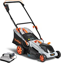 cordless lawn mower and trimmer