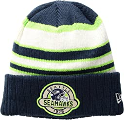New Era Striped Select Seattle Seahawks