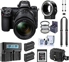 Nikon Z6 FX-Format Mirrorless Digital Camera w/NIKKOR Z 24-70mm f/4 S Lens, Complete Bundle with FTZ Mount Adapter, 64GB X...