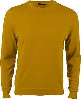Voray Ga 0002 - Maglione basic a maglia, con collo rotondo