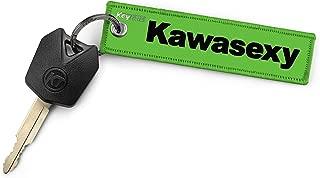 KEYTAILS Keychains, Premium Quality Key Tag for Kawasaki, Motorcycle, ATV, UTV [Kawasexy]