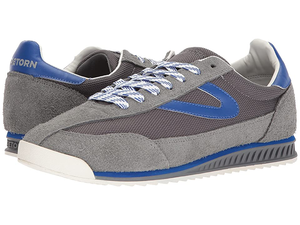 Tretorn Rawlins 2 (Dark Grey/Dark Grey/Cina Blue) Men