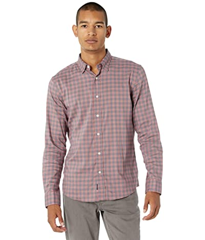 Faherty Movement Shirt (Barn Red Gingham) Men