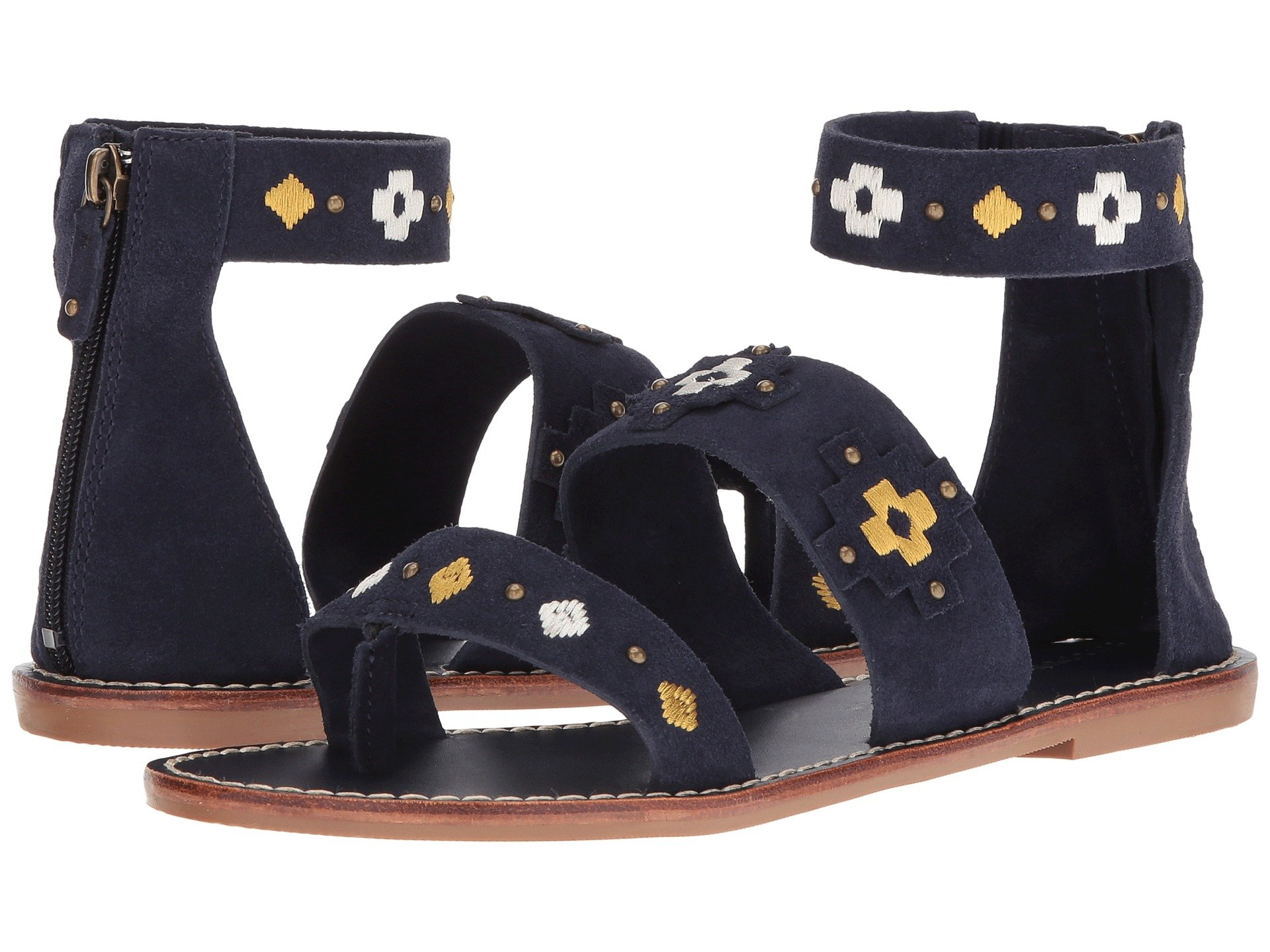 ff743b05442 SOLUDOS EMBROIDERED THREE BANDED SANDAL