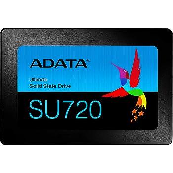 ADATA SU720 1TB 3D Nand 2.5 Inch SATA III R/W Speed up to 520/450 MB/s Internal SSD (ASU720SS-1T-C)