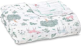 aden + anais Dream Blanket   Boutique Muslin Baby Blankets for Girls & Boys   Ideal Lightweight Newborn Nursery & Crib Bla...