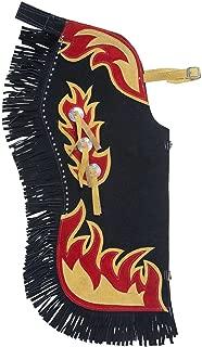Western Chaps Kids Flame Design Conchos Adjustable 63-266