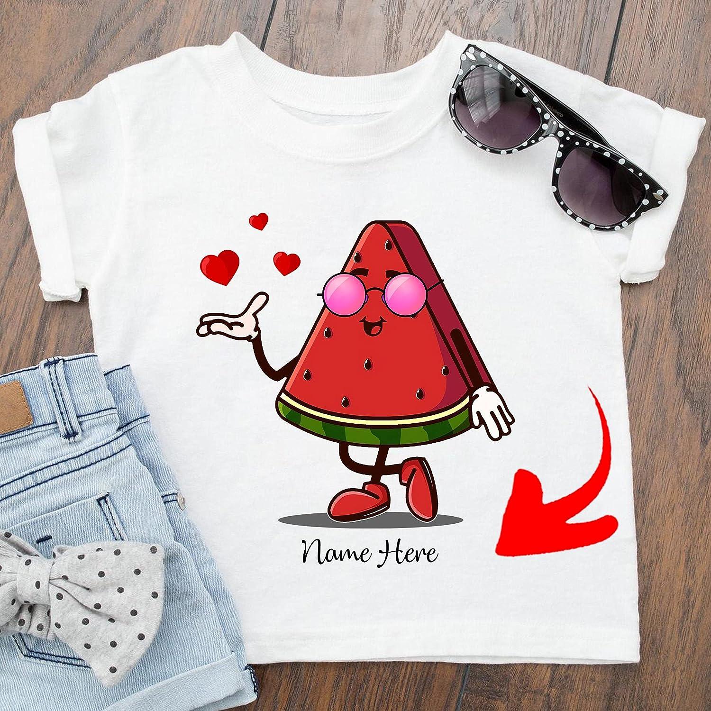 Custom Name Watermelon Same day shipping Slice Ranking TOP4 Summer T T-Shirt