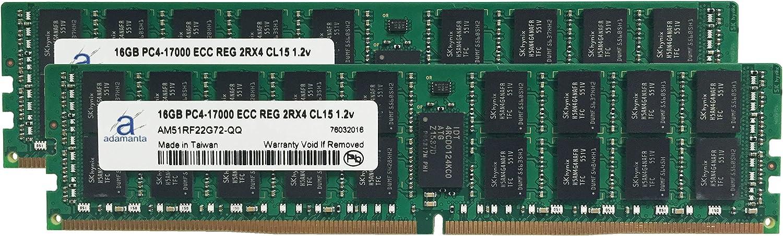 Adamanta New Orleans Mall Dedication 32GB 2x16GB Server Memory Del Upgreade Compatible for