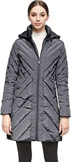 Orolay Women's Down Jacket Winter Removable Hooded Coat