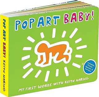 Mudpuppy Mudpuppy Keith Haring Pop Art Baby! Book