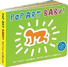 Mudpuppy Women's Mudpuppy Keith Haring Pop Art Baby! Book