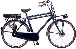 Amigo E-Pulse – Elcykel för män – E-cykel 28 tum – stadscykel med Shimano 3-växlad – navkoppling – 250 W och 13 Ah, 36 V L...