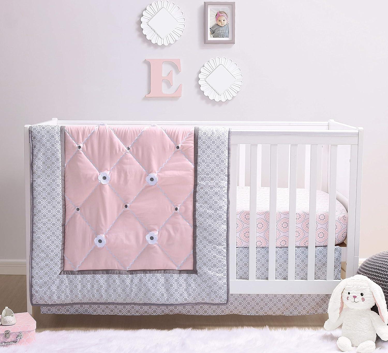 Save money The Super sale period limited Peanutshell Princess Crib Bedding Set Pie Baby for 3 Girls