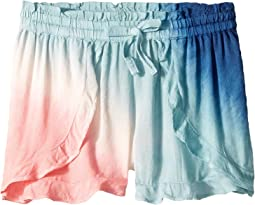 Tie-Dye Voile Shorts (Big Kids)