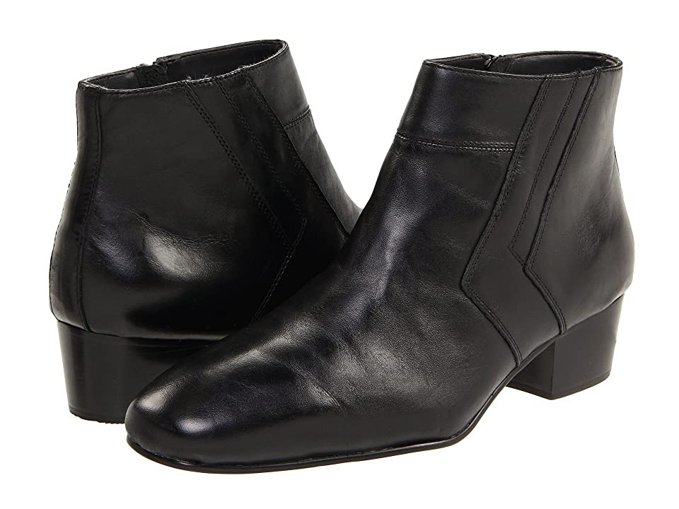 Mens Vintage Style Shoes| Retro Classic Shoes Giorgio Brutini Blackjack Black Mens Boots $89.00 AT vintagedancer.com