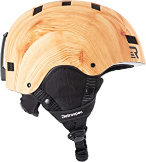 Retrospec Traverse H1 Convertible Ski & Snowboard/Bike & Helmet