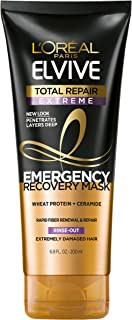 L'Oréal Paris Elvive Total Repair Extreme Emergency Recovery Mask, 6.8 fl. oz. (Packaging May Vary)