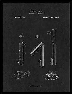 ماكينة حلاقة وسكين الحلاقة رقم PATENT150025BK-1317BK 1879 من سبوت كولور آرت